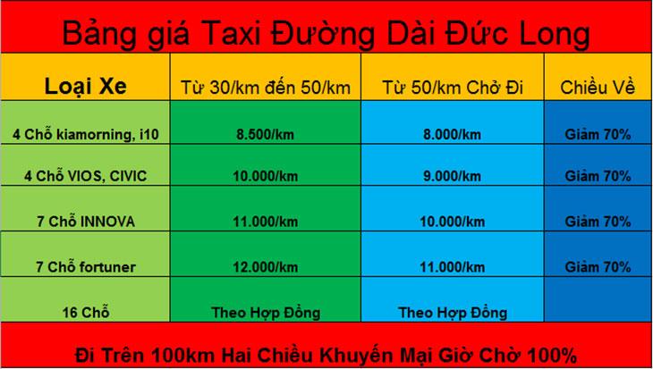 taxi đường dài